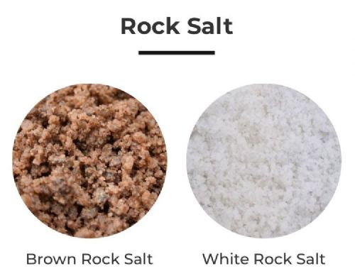 Rock Salt - White / Brown